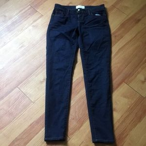Denim - Cafe denim dark skinny super stretchy jeans
